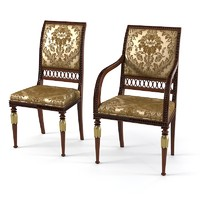 Armando Rho D E 261 Dining Chair Set