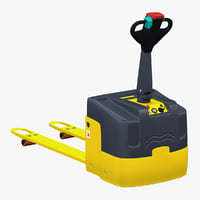 3d 3ds electric pallet truck v2
