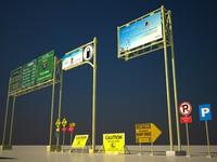 max hd billboard road