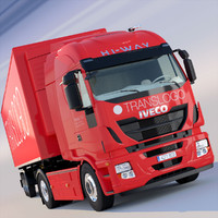 New Iveco Hi Way with refrigerated trailer