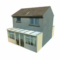 Lowpoly English House 2