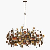 chandelier lam lee 3d model