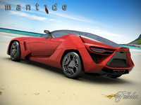 bertone mantide concept 3d max