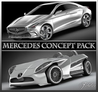 Mercedes Concept pack