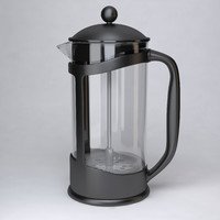 3d model of cafetiere plastic french