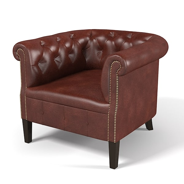 Ralph Lauren Bookfield Tub Chair tufted Edwardian armchair classic chesterfield traditional leather club0001.jpg