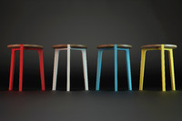 stool modelled 3d model