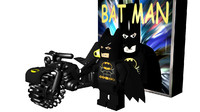 3d model lego batman box