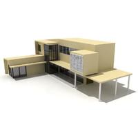 architectural designed 3d model