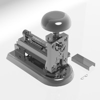 3d stapler studio design model
