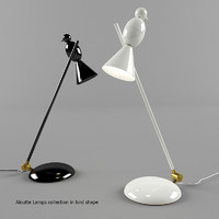 aloutte lamps bird shape max
