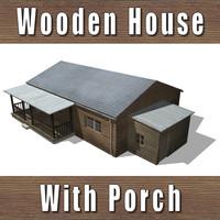 maya wooden house