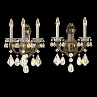 Schonbek la scala 5071 5070-48   lamps set