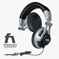 3ds max shure headphones