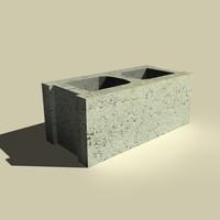 block concrete max