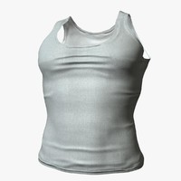 realistical male shirt 3d max