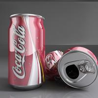 3d model coca cola l