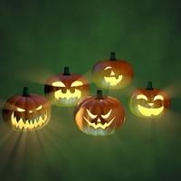 maya halloween pumpkins