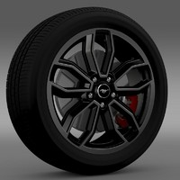 Ford_Mustang GT 2013 wheel