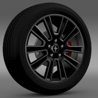 maya mustang 2010 wheel