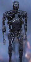 terminator t800 3d model