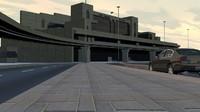 3d model airport karachi