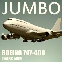 maya boeing 747-400 generic