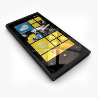 new flagship phone Nokia Lumia 920 Black