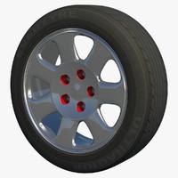 auto rim wheel 3d model