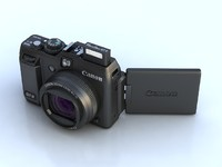 canon g1 x digital camera 3d max