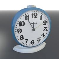alarmclock vitjaz ussr 3d model