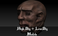 3ds max head asset