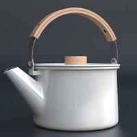 kaico teapot 3d max