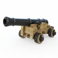 cannon artillery naval obj