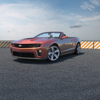 3ds chevy camaro zl1 car