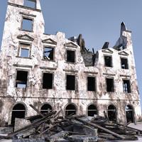WW2 Ruin 003