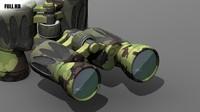 3ds max binocular camouflage