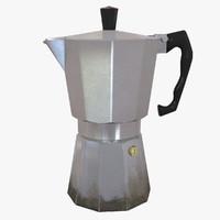 3dsmax stovetop espresso maker