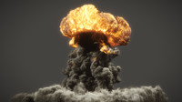 FumeFX atomic explo