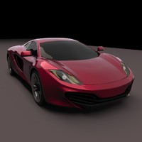 mp4 realistic 3d model
