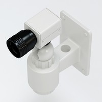 3d model of security camera