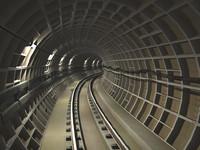 metropolitan tunnel 3d max