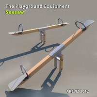 3ds max playground equipment