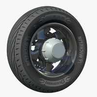 wheel rear rim motor bike 3d model
