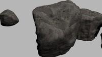 3ds max rocks