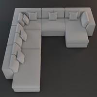 3d max sofa realistic