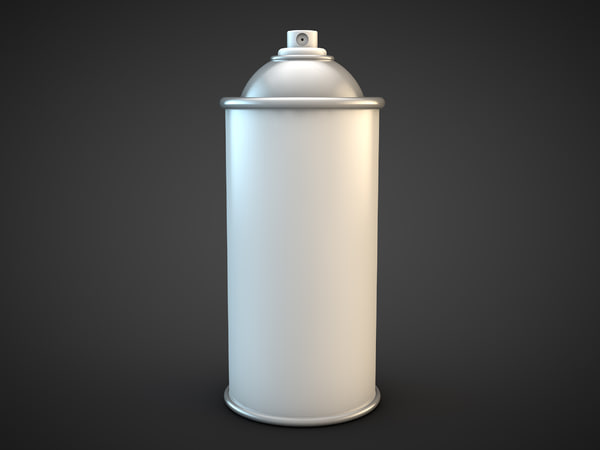 spray paint 3d models container aerosol can tags spray can art paint. Black Bedroom Furniture Sets. Home Design Ideas