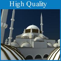 3d model mosque