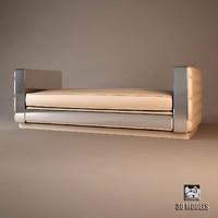 3d model visionnaire sofa magnolia