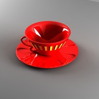 3dsmax tea cup
